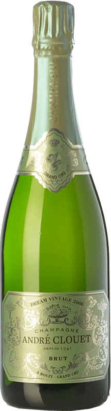 52,95 € Free Shipping | White sparkling André Clouet Dream Vintage Grand Cru 2008 A.O.C. Champagne Champagne France Chardonnay Bottle 75 cl