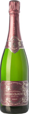 64,95 € Free Shipping | White sparkling André Clouet Dream Vintage Grand Cru 2004 A.O.C. Champagne Champagne France Chardonnay Bottle 75 cl | Thousands of wine lovers trust us to get the best price guarantee, free shipping always and hassle-free shopping and returns.