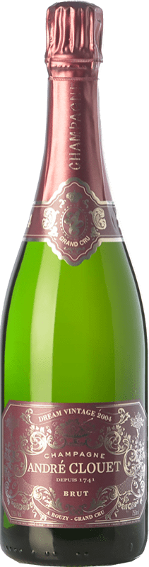 52,95 € Free Shipping | White sparkling André Clouet Dream Vintage Grand Cru 2004 A.O.C. Champagne Champagne France Chardonnay Bottle 75 cl
