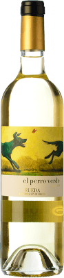 9,95 € Free Shipping | White wine Lorenzo Cachazo El Perro Verde D.O. Rueda Castilla y León Spain Verdejo Bottle 75 cl | Thousands of wine lovers trust us to get the best price guarantee, free shipping always and hassle-free shopping and returns.