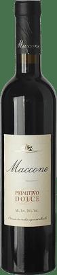 12,95 € Kostenloser Versand | Süßer Wein Angiuli Dolce Maccone I.G.T. Puglia Apulien Italien Primitivo Halbe Flasche 50 cl