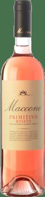 15,95 € Free Shipping | Rosé wine Angiuli Rosato Maccone I.G.T. Puglia Puglia Italy Primitivo Bottle 75 cl