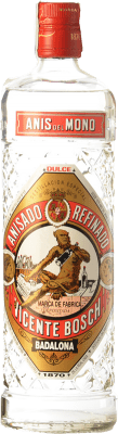 7,95 € Envío gratis | Anisado Anís del Mono Dulce Cataluña España Botella 70 cl