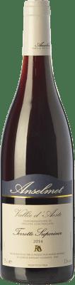 26,95 € Free Shipping | Red wine Anselmet Torrette Supérieur D.O.C. Valle d'Aosta Valle d'Aosta Italy Cornalin, Fumin, Petit Rouge Bottle 75 cl