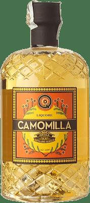 36,95 € Free Shipping | Herbal liqueur Quaglia Liquore alla Camomilla Piemonte Italy Bottle 70 cl