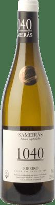 22,95 € Free Shipping | White wine Cajide Gulín Sameirás 1040 Crianza D.O. Ribeiro Galicia Spain Godello, Treixadura, Albariño, Lado Bottle 75 cl