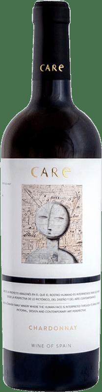 9,95 € Envoi gratuit | Vin blanc Añadas Care D.O. Cariñena Aragon Espagne Chardonnay Bouteille 75 cl