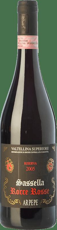 79,95 € Envoi gratuit | Vin rouge Ar.Pe.Pe. Sassella Riserva Rocce Rosse Reserva 2009 D.O.C.G. Valtellina Superiore Lombardia Italie Nebbiolo Bouteille 75 cl