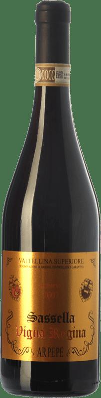79,95 € Envoi gratuit | Vin rouge Ar.Pe.Pe. Sassella Riserva Vigna Regina Reserva 2009 D.O.C.G. Valtellina Superiore Lombardia Italie Nebbiolo Bouteille 75 cl