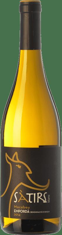 7,95 € Envoi gratuit | Vin blanc Arché Pagés Sàtirs Blanc D.O. Empordà Catalogne Espagne Macabeo Bouteille 75 cl