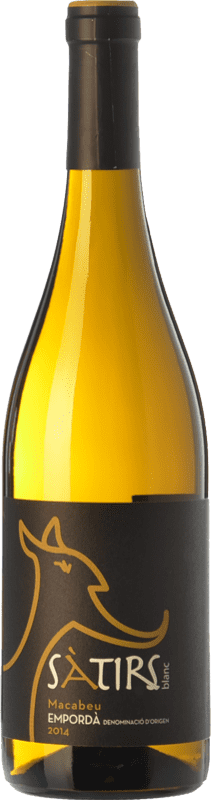 7,95 € Free Shipping | White wine Arché Pagés Sàtirs Blanc D.O. Empordà Catalonia Spain Macabeo Bottle 75 cl