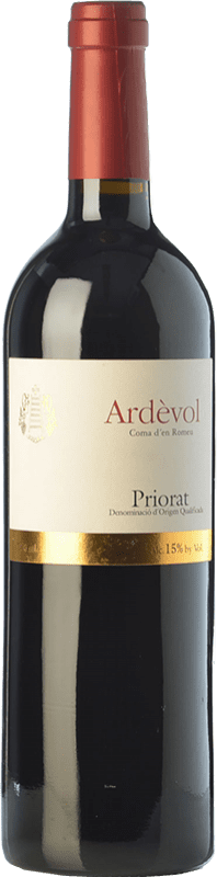 19,95 € Free Shipping | Red wine Ardèvol Coma d'en Romeu Crianza D.O.Ca. Priorat Catalonia Spain Merlot, Syrah, Grenache, Cabernet Sauvignon Bottle 75 cl