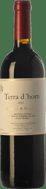 38,95 € Free Shipping | Red wine Ardèvol Terra d'Hom Crianza D.O.Ca. Priorat Catalonia Spain Syrah Bottle 75 cl