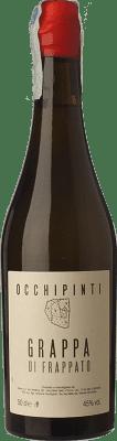 43,95 € Kostenloser Versand | Grappa Arianna Occhipinti Frappato I.G.T. Grappa Siciliana Sizilien Italien Halbe Flasche 50 cl