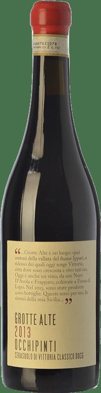 61,95 € Envoi gratuit | Vin rouge Arianna Occhipinti Grotte Alte D.O.C.G. Cerasuolo di Vittoria Sicile Italie Nero d'Avola, Frappato Bouteille 75 cl