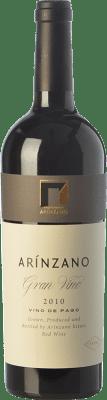 84,95 € Free Shipping | Red wine Arínzano Gran Vino Crianza 2010 D.O.P. Vino de Pago de Arínzano Navarre Spain Tempranillo, Merlot Bottle 75 cl