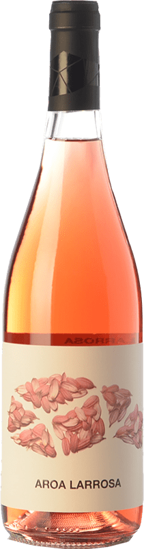 8,95 € Free Shipping | Rosé wine Aroa Larrosa D.O. Navarra Navarre Spain Tempranillo, Grenache Bottle 75 cl