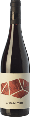 9,95 € Free Shipping | Red wine Aroa Mutiko Joven D.O. Navarra Navarre Spain Tempranillo, Merlot Bottle 75 cl