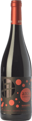 7,95 € Free Shipping | Red wine Aroa Garnatxa Joven D.O. Navarra Navarre Spain Grenache Bottle 75 cl