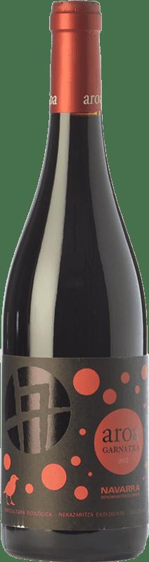 6,95 € Free Shipping | Red wine Aroa Garnatxa Joven D.O. Navarra Navarre Spain Grenache Bottle 75 cl