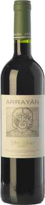 19,95 € Free Shipping | Red wine Arrayán Crianza D.O. Méntrida Castilla la Mancha Spain Petit Verdot Bottle 75 cl