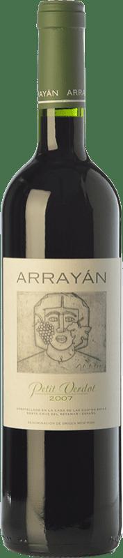 19,95 € Free Shipping | Red wine Arrayán Crianza D.O. Méntrida Castilla la Mancha Spain Petit Verdot Bottle 75 cl