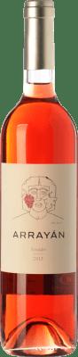 9,95 € Envío gratis | Vino rosado Arrayán D.O. Méntrida Castilla la Mancha España Merlot, Syrah, Cabernet Sauvignon, Petit Verdot Botella 75 cl
