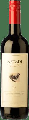 8,95 € Envoi gratuit | Vin rouge Artadi Joven Espagne Tempranillo, Viura Bouteille 75 cl