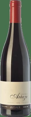 25,95 € Envío gratis | Vino tinto Artazu Santa Cruz Crianza D.O. Navarra Navarra España Garnacha Botella 75 cl