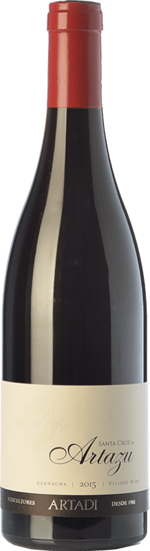 25,95 € Free Shipping | Red wine Artazu Santa Cruz Crianza D.O. Navarra Navarre Spain Grenache Bottle 75 cl