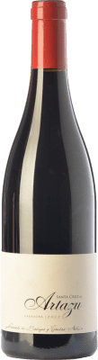Red wine Artazu Santa Cruz Crianza D.O. Navarra Navarre Spain Grenache Magnum Bottle 1,5 L
