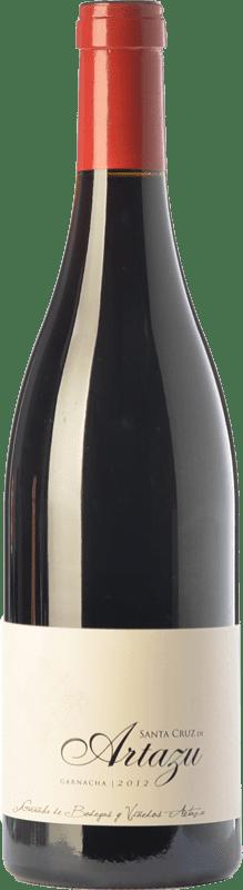 64,95 € Envío gratis | Vino tinto Artazu Santa Cruz Crianza D.O. Navarra Navarra España Garnacha Botella Mágnum 1,5 L
