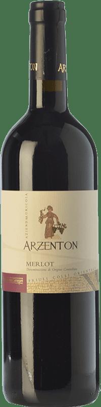 8,95 € Free Shipping | Red wine Arzenton D.O.C. Colli Orientali del Friuli Friuli-Venezia Giulia Italy Merlot Bottle 75 cl