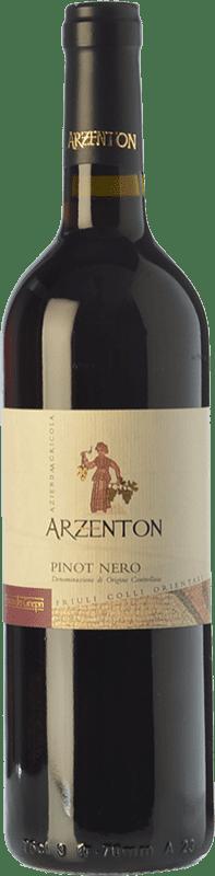9,95 € Free Shipping | Red wine Arzenton Pinot Nero D.O.C. Colli Orientali del Friuli Friuli-Venezia Giulia Italy Pinot Black Bottle 75 cl