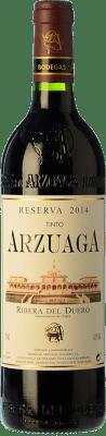 31,95 € Kostenloser Versand | Rotwein Arzuaga Reserva D.O. Ribera del Duero Kastilien und León Spanien Tempranillo, Cabernet Sauvignon Flasche 75 cl