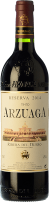36,95 € Envoi gratuit | Vin rouge Arzuaga Reserva D.O. Ribera del Duero Castille et Leon Espagne Tempranillo, Cabernet Sauvignon Bouteille 75 cl