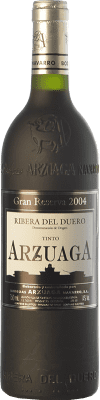 93,95 € Envoi gratuit | Vin rouge Arzuaga Gran Reserva 2004 D.O. Ribera del Duero Castille et Leon Espagne Tempranillo, Merlot, Cabernet Sauvignon Bouteille 75 cl