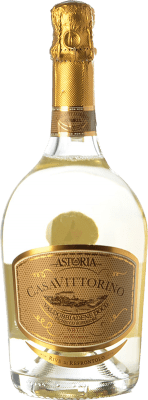 9,95 € Free Shipping | White sparkling Astoria Casa di Vittorino Brut D.O.C.G. Prosecco di Conegliano-Valdobbiadene Treviso Italy Glera Bottle 75 cl | Thousands of wine lovers trust us to get the best price guarantee, free shipping always and hassle-free shopping and returns.