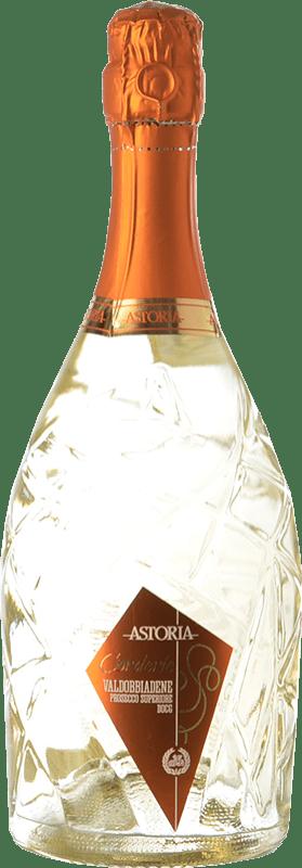 21,95 € Free Shipping | White sparkling Astoria Corderìe D.O.C.G. Prosecco di Conegliano-Valdobbiadene Treviso Italy Glera Bottle 75 cl