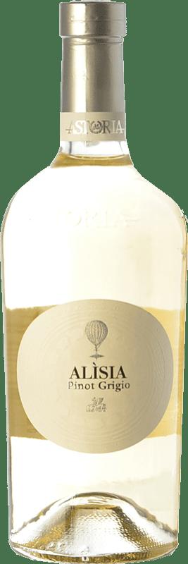 17,95 € Envoi gratuit | Vin blanc Astoria Alisia I.G.T. Friuli-Venezia Giulia Frioul-Vénétie Julienne Italie Pinot Gris Bouteille 75 cl