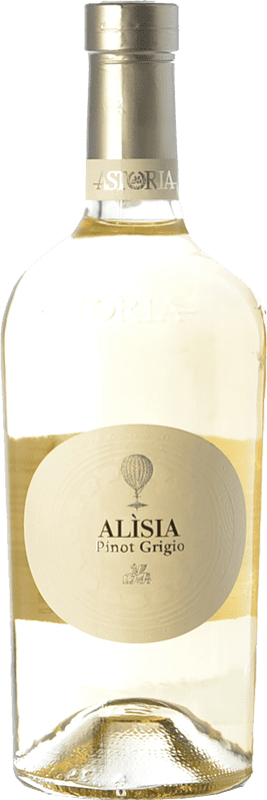 17,95 € Free Shipping | White wine Astoria Alisia I.G.T. Friuli-Venezia Giulia Friuli-Venezia Giulia Italy Pinot Grey Bottle 75 cl