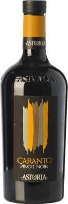 19,95 € Free Shipping | Red wine Astoria Pinot Nero Caranto I.G.T. Friuli-Venezia Giulia Friuli-Venezia Giulia Italy Pinot Black Bottle 75 cl