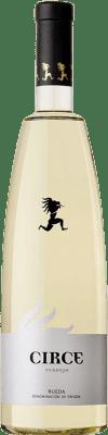 11,95 € Free Shipping | White wine Avelino Vegas Circe D.O. Rueda Castilla y León Spain Verdejo Bottle 75 cl