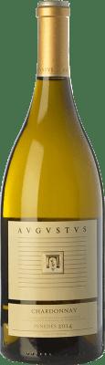 24,95 € Free Shipping | White wine Augustus Crianza D.O. Penedès Catalonia Spain Chardonnay Magnum Bottle 1,5 L