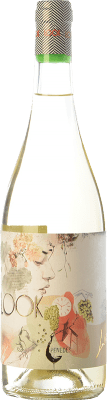 7,95 € Free Shipping | White wine Augustus Look D.O. Penedès Catalonia Spain Muscat of Alexandria, Xarel·lo, Sauvignon White Bottle 75 cl