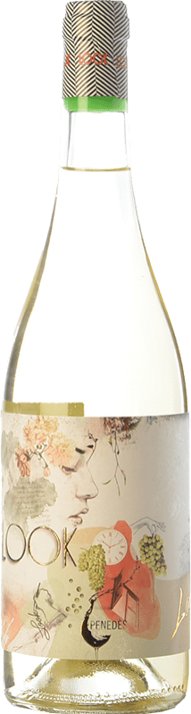 6,95 € Free Shipping | White wine Augustus Look D.O. Penedès Catalonia Spain Muscat of Alexandria, Xarel·lo, Sauvignon White Bottle 75 cl