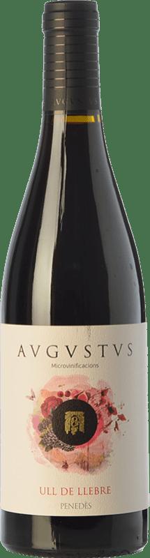 12,95 € Envío gratis   Vino tinto Augustus Microvinificacions Ull de Llebre Joven D.O. Penedès Cataluña España Tempranillo Botella 75 cl
