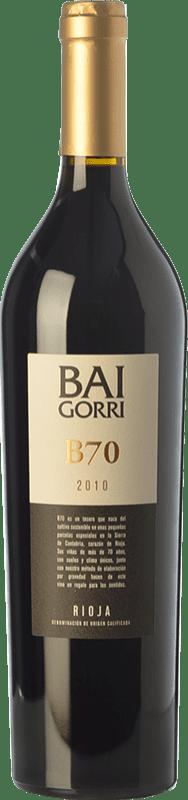 106,95 € Free Shipping | Red wine Baigorri B70 Reserva D.O.Ca. Rioja The Rioja Spain Tempranillo Bottle 75 cl