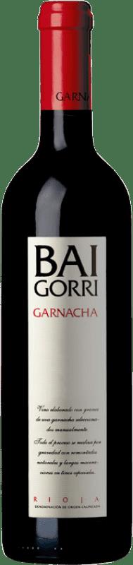 23,95 € Free Shipping | Red wine Baigorri Belus Joven D.O.Ca. Rioja The Rioja Spain Tempranillo, Grenache, Mazuelo Bottle 75 cl