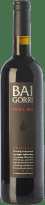 24,95 € Envoi gratuit | Vin rouge Baigorri Reserva D.O.Ca. Rioja La Rioja Espagne Tempranillo Bouteille 75 cl